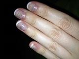French glitter gellack