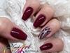 Magical Maroon Nails