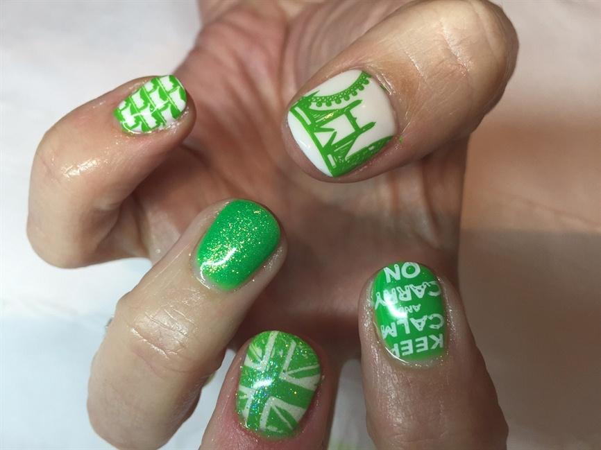 London marathon nails - Nail Art Gallery