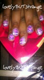 *lovelyBUTstange* Sweetheart V-Day Nails