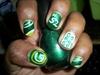 *lovelyBUTstrange* GreenBay Packer Nails