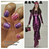 Besty Johnson Inspired Nail Art