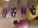 Cherry Blossmom Ombre Nails
