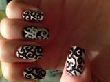 Swirly nails