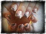 Girly leopard print