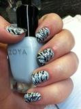 Sparkly Zebra