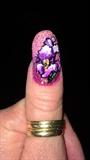 Hand Painted Iris