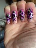 Hand Painted Irises