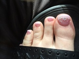 Manicure On Toes