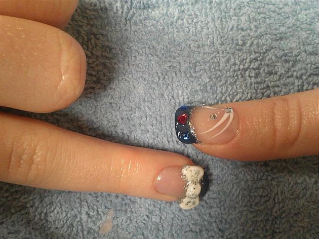 3-D nails