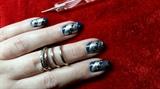 Practice nail art,