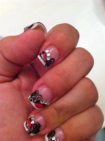 Salon nails.