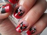 Gothic Bridal Manicure