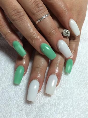 mint nails💅🏼  nail art gallery