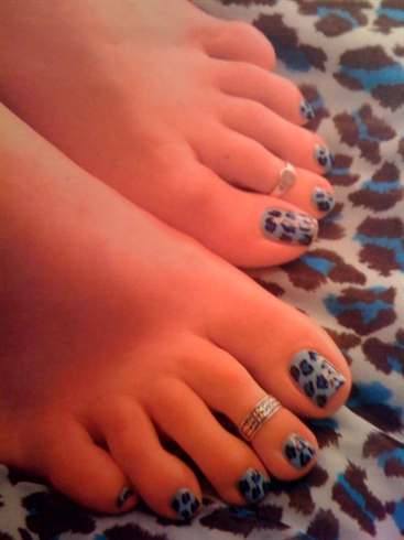 Blue U Cheetah!!
