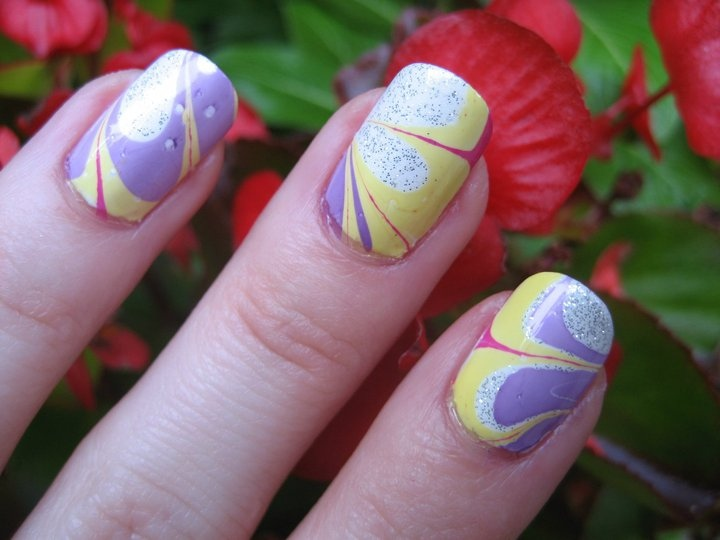 marble nail art-78