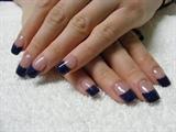 dark blue sparkles