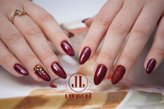 Wine Red Nails Perfect Manicure Nail Art Gallery