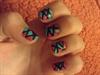 Cute Mosaic Nails