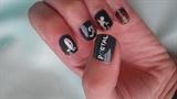 Portal game nail art