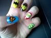 DC Comics superhero nails