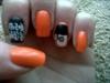 Clockwork Orange nails