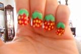 Strawberries inspired by cutepolish