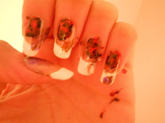 Ripped Up Nails Ihaveacupcake Inspired Nail Art Gallery