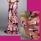 Prom Dress Nail Art