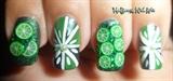 3D Cute Green Limes Fimo Nail Art