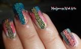 Summer Caviar Party Nail Art