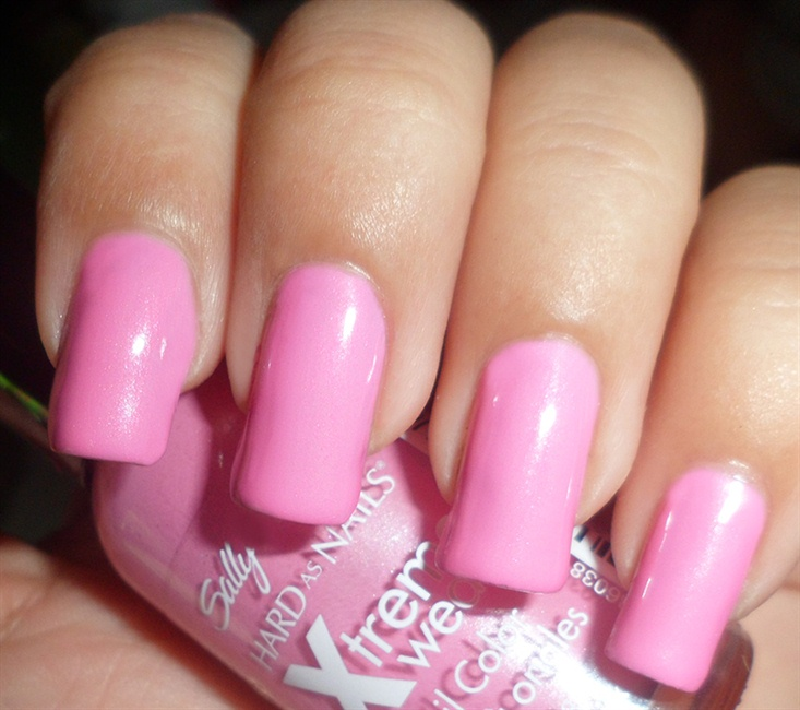 Pink Camouflage Spikes Fashion Nail Art - Nail Art Gallery Step-by ...