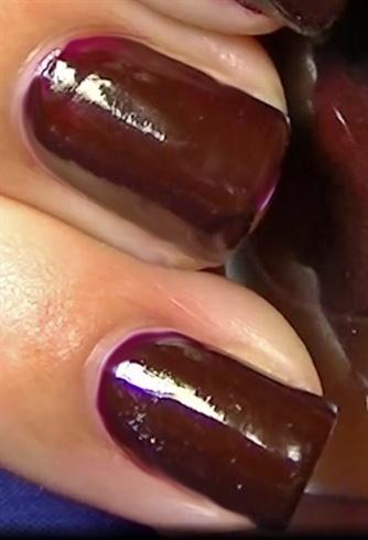 easy glamorous elegant lady nails  nail art gallery step