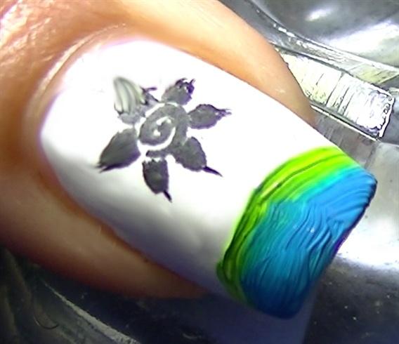 Paint your tips randomly