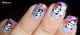 Cute Panda Nails!