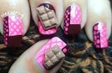 Delicious 3D Chocolate Bar Nail Art