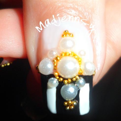 Gothic Lolita Nail Art ❤