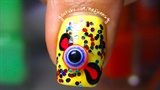 Cute 3D Eyeball Candy Nails!