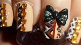 Fall Blocking Japanese Hime 3D Bow Nail
