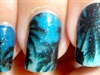 Night Scene on the Beach Nail Stickers