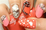 3D Girly Japanese Style Nail Art