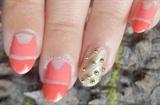 Emma Stone Met Gala 2014 ❤ Inspired Nail