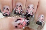 Chinese Bridal Floral Hanfu Nail Art