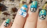 World Cup 2014 Argentina Nail Art