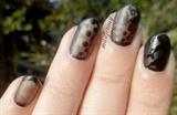 Sheer Black Nails!