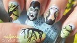 Maleficent Nail Art