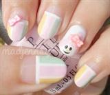 Sanrio My Melody Nail Art