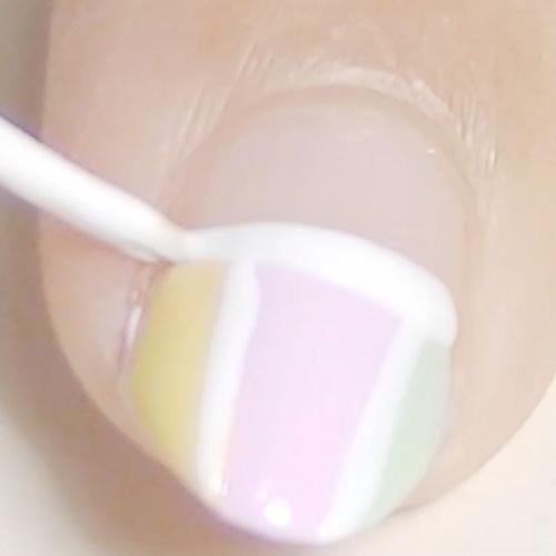 Sanrio My Melody Nail Art - Nail Art Gallery Step-by-Step ...
