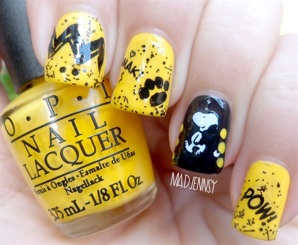 Snoopy Nail Art - Peanuts Collection by - Snoopy Nail Art - Peanuts Collection By - Nail Art Gallery