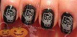Hello Kitty Jason nails